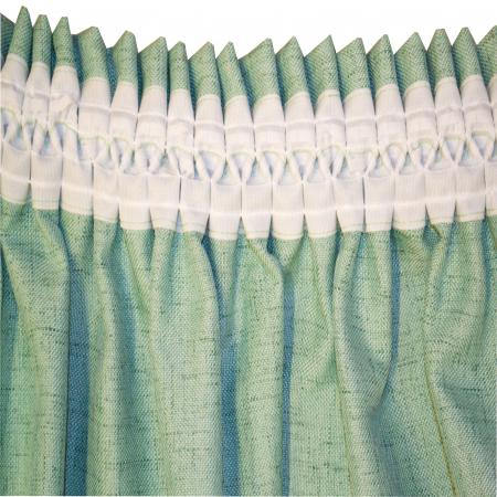 Set draperii Velaria verde salvie 2x200x260 cm4