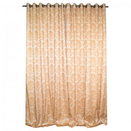 Set draperii Velaria tafta model baroc 3D, 2X175X275 cm1