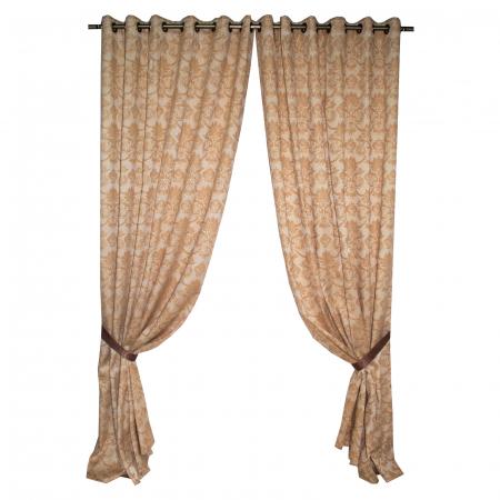 Set draperii Velaria tafta model baroc 3D, 2X175X275 cm0