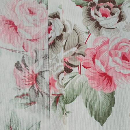 Set draperii Velaria floral verde 2x190x260 cm3