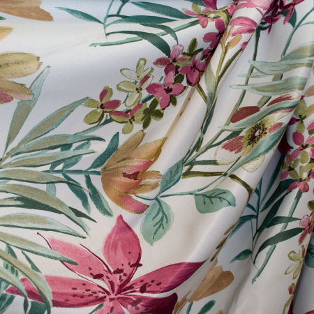 Set draperii Velaria jungle flowers, 2*160x260 cm [2]