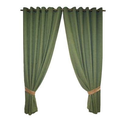 Set draperii Velaria verde inchis, diverse dimensiuni0