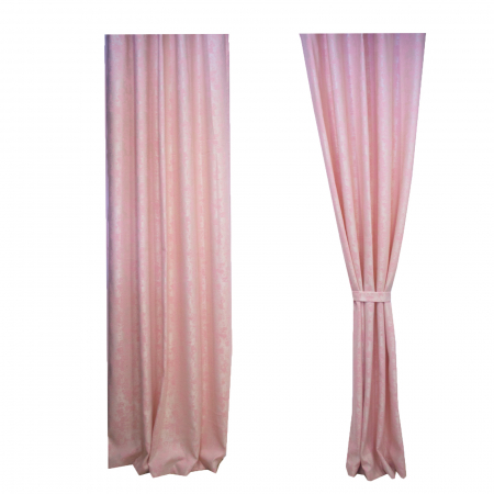 Set draperii Velaria Asos roz cu rejansa4