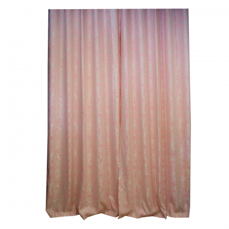 Set draperii Velaria Asos roz cu rejansa3