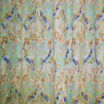 Set draperii Velaria baroc cu bleo, 2 x 140 x 270 cm2