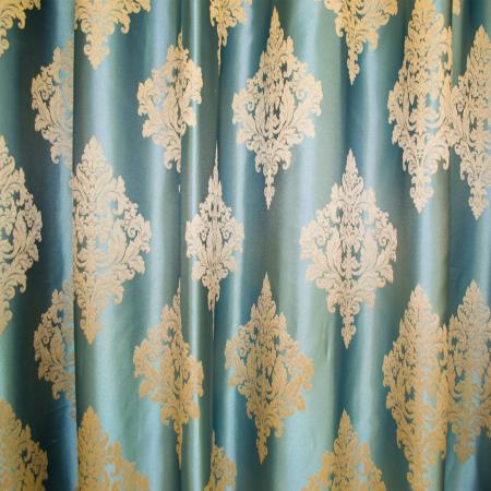 Set draperii Velaria imperium turcoaz, 2*150x260 cm4