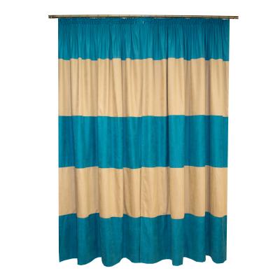 Set draperii Velaria turcoaz-bej, 2x150x230 cm1