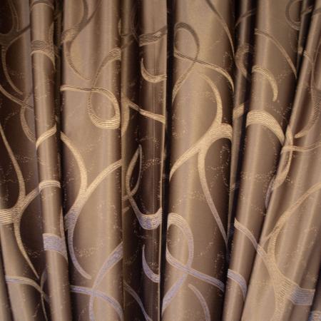 Set draperii Velaria jacard maro [1]
