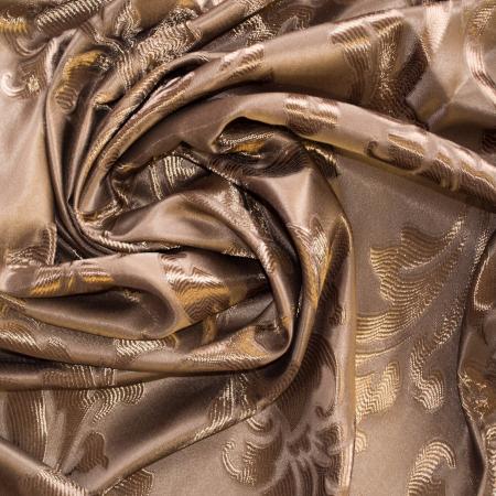 Set draperii Velaria jacard maro3