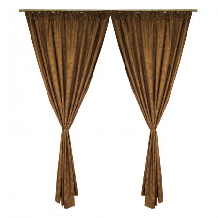 Set draperii Velaria wenge antichizat2