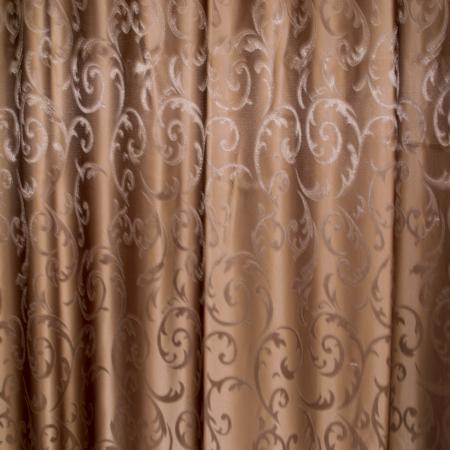 Set draperii Velaria jacard wenge, 2*150x220 cm1