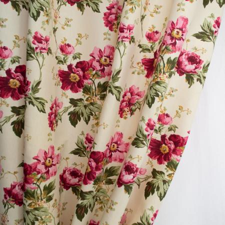 Set draperii Velaria flori rosii [2]