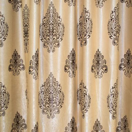 Set draperii Velaria blackout grej cu baroc wenge, 2*285x245 cm1