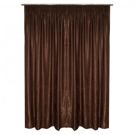 Set draperii Velaria soft maro, 2*135x245 cm1