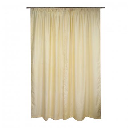 Set draperii Velaria soft unt, 2*115x245 cm2