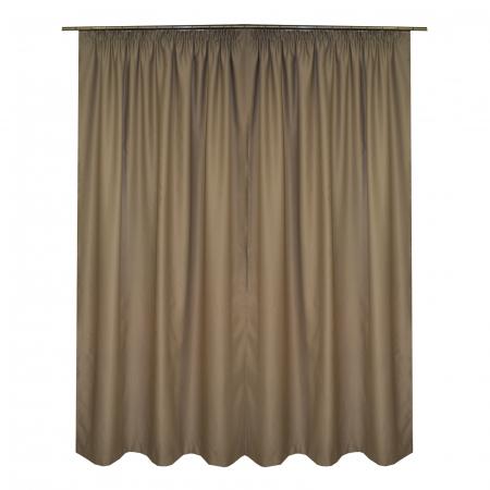 Set draperii Velaria blackout bej, 2*150x245 cm1