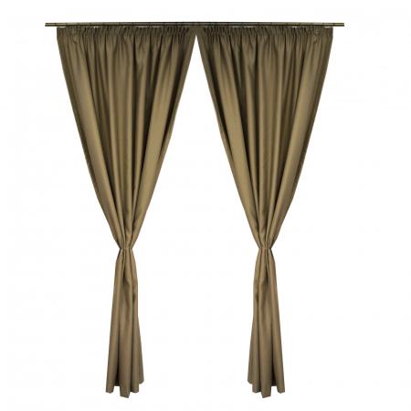 Set draperii Velaria blackout bej, 2*150x245 cm0