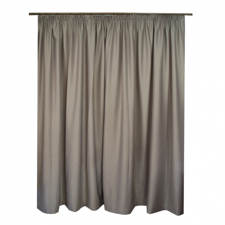 Set draperii Velaria soft gri, 2*270x245 cm1