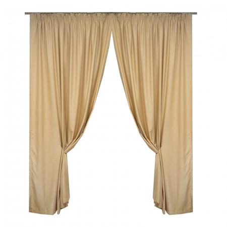 Set draperii Velaria soft grej, 2*190x245 cm0