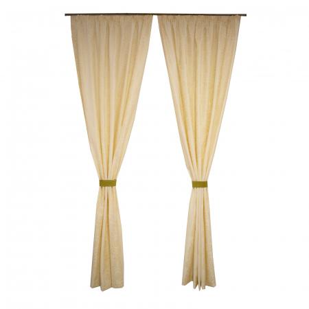 Set draperii Velaria tafta baroc ivory [0]