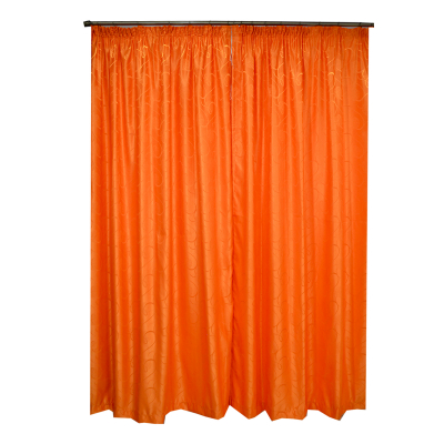 Set draperii Velaria jacard portocaliu 300x245 cm1