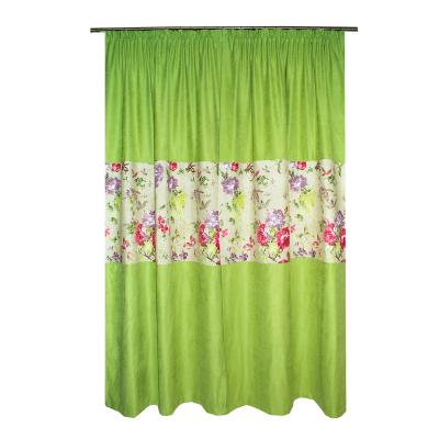 Set draperii Velaria verde crud, 2x115x235 cm1