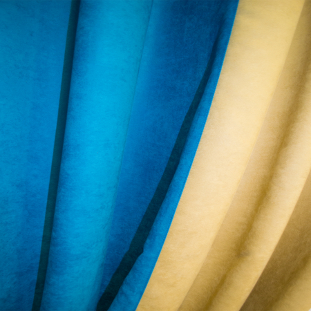Set draperii Velaria turcoaz-bej [2]