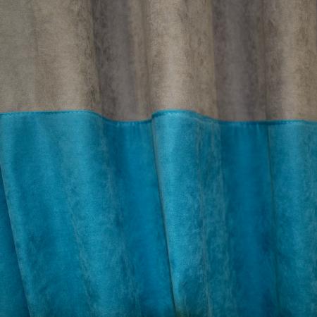 Set draperii Velaria turcoaz-gri2