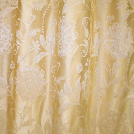 Set draperii Velaria tafta cu flori, 2x145x260 cm2
