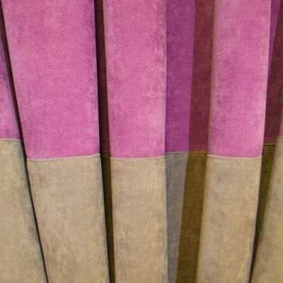 Set draperii Velaria milas mov-gri, 2x140x230 cm [1]