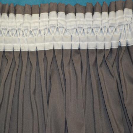 Set draperii Velaria turcoaz gri 2x200x230 cm3