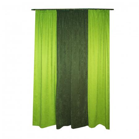 Set draperii Velaria verde-gri, 2x130x260 cm1