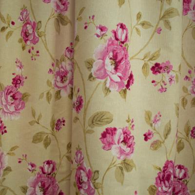 Set draperii simfonie roz, 2x150x260 cm2