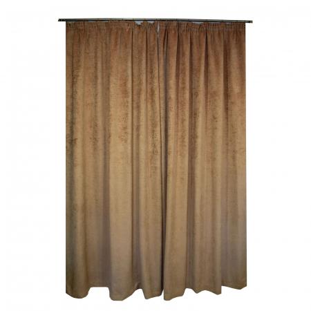 Set draperii Velaria mistic capucino, 2*160x260 cm [1]