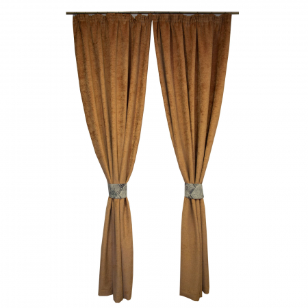 Set draperii Velaria mistic capucino, 2*160x260 cm [0]