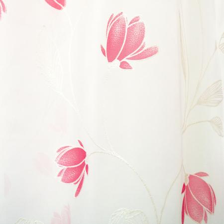 Perdea Velaria flori rosii, 290x175 cm [1]