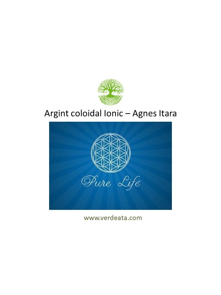 Argint coloidal ionic - Agnes Itara - Pure Life