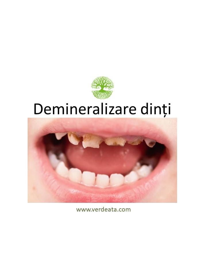 Pastă împotriva demineralizării dinților