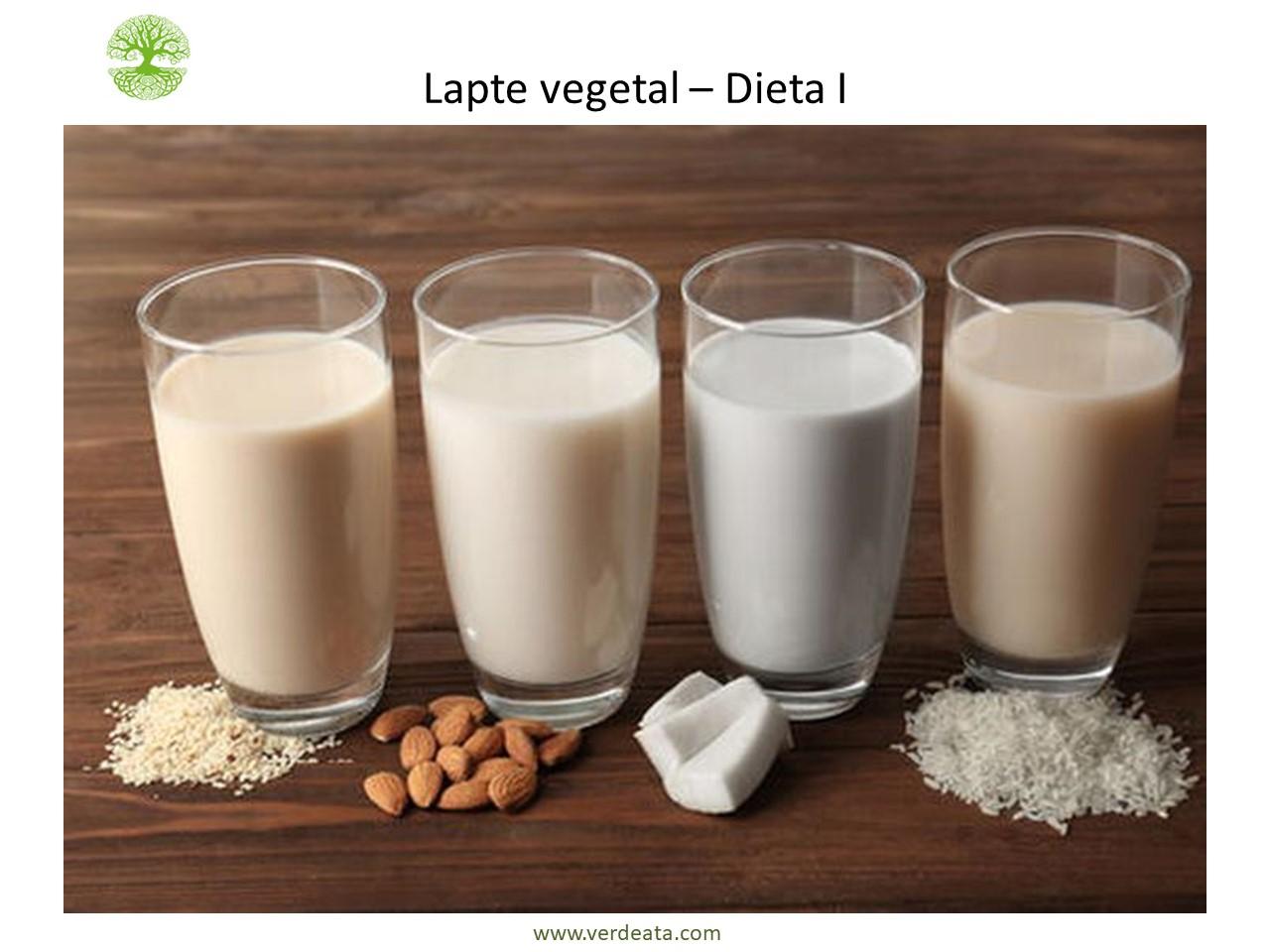 Lapte de nuci (nuci romanesti, caju, migdale, nuci macadamia, nuci braziliene, pecan), canepă, susan, floarea soarelui, dovleac etc. - Dieta I