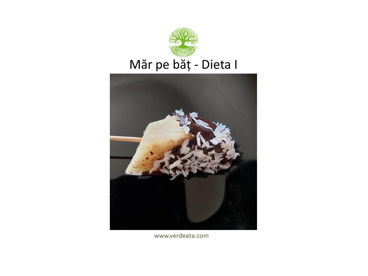 Măr pe băț - Dieta I