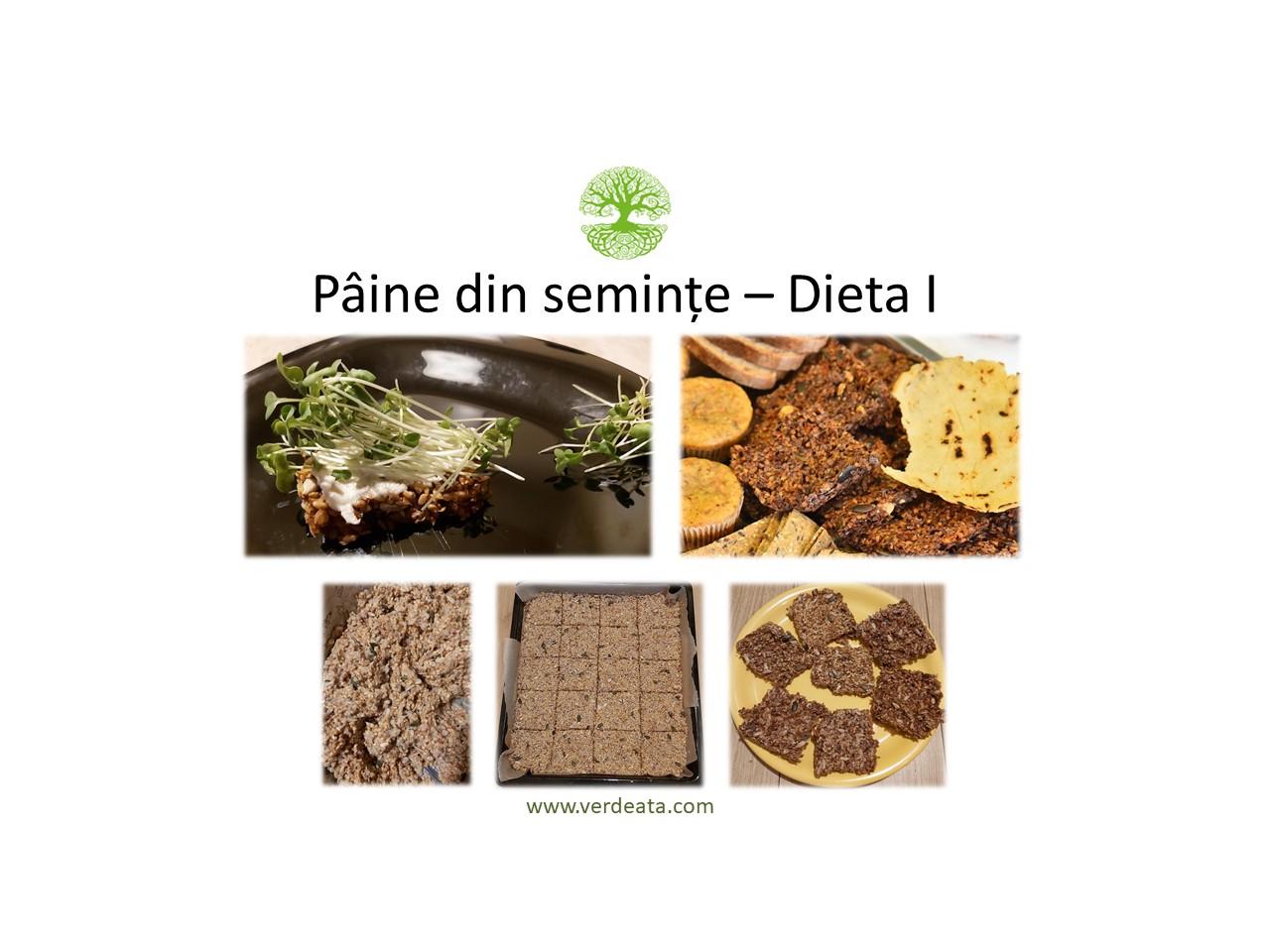 Paine din semințe - Dieta I