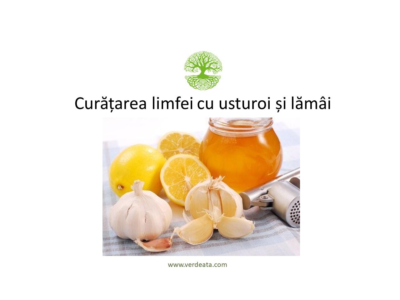 Soluția de usturoi pentru curățarea limfei