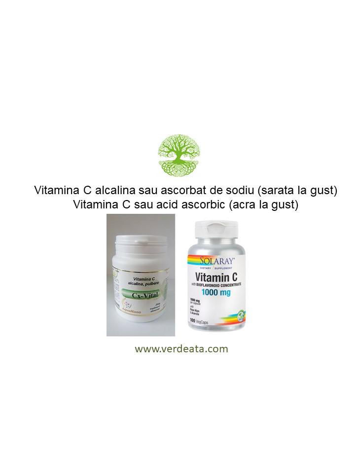 Vitamina C - dozaj, boli, studii