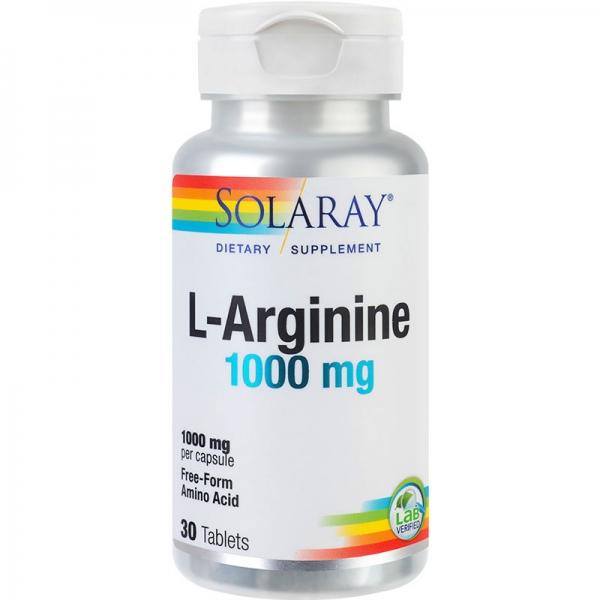 L-Arginine 1000mg, 30 tablete 0
