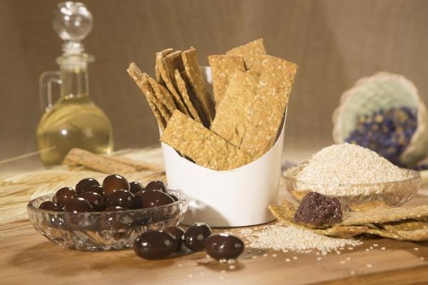 Crackers cu masline kalamata, 125g 2