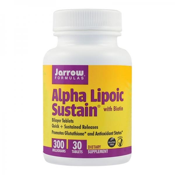 ALA Acid Alpha Lipoic Sustain 300mg 0