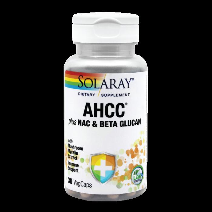 AHCC plus NAC plus Beta Glucan, 30cps [0]