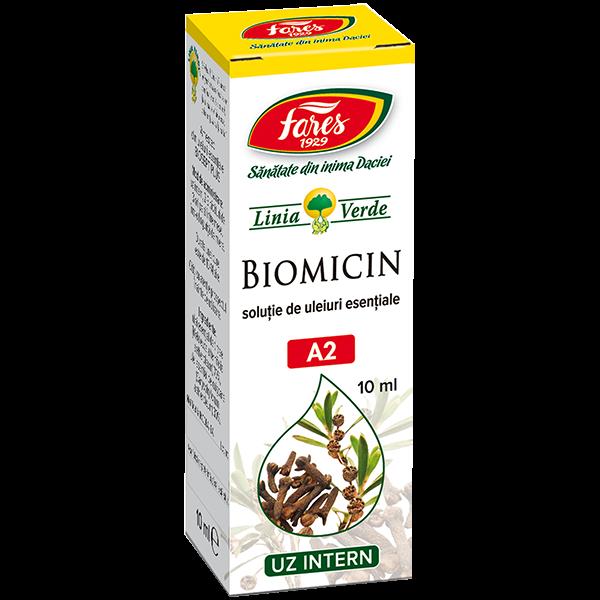 Biomicin A2 solutie 10 ml 0