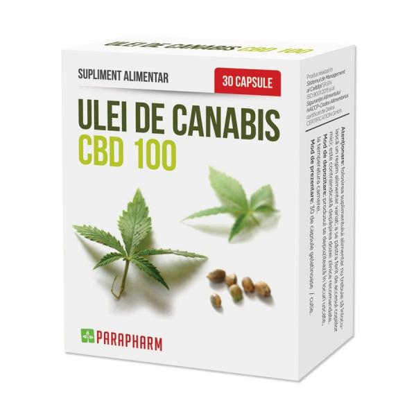 Ulei de Canabis CBD100, 30cps 0