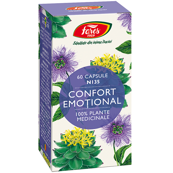 Confort emotional N135, 60capsule 0